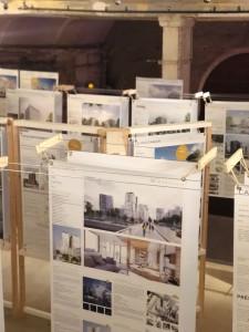 Exposition Immeubles à Vivre Bois en février 2018, à la Maison de l'Architecture d'Ile de France