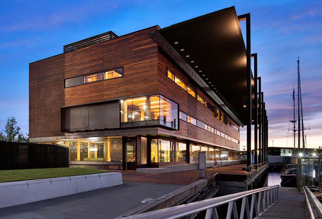 Dock Square Library, Victoria Harbour, Docklands, Melbourne, Aus